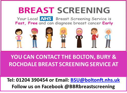 Breast Screening. Your local NHS breast screening service is fast,. free and can diagnose breast cancer early